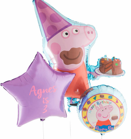 Peppa Pig Personalised Bouquet - Code 00235
