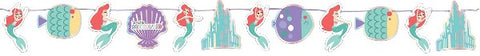 ARIEL UNDER THE SEA PAPER GARLAND KIT