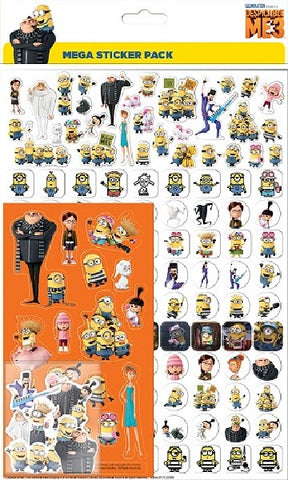 DESPICABLE ME 3 MEGA PACK
