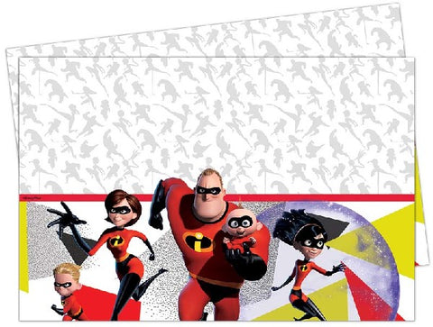 INCREDIBLES 2 TABLE COVER