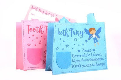 TOOTH FAIRY BAG WITH CERTIFICATE