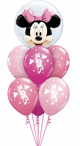 Minnie Mouse Bubble and Latex Bouquet - Code 459