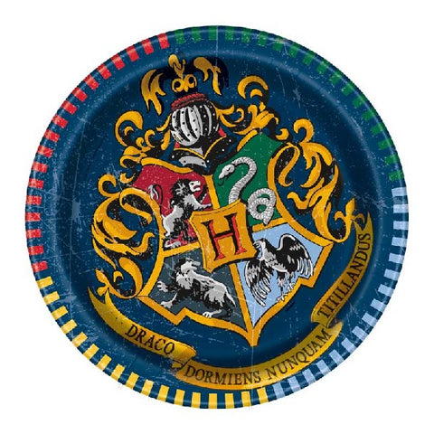 8PK 7IN HARRY POTTER PLATES