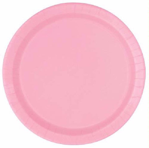16PK 9IN LOVELY PINK PLATES