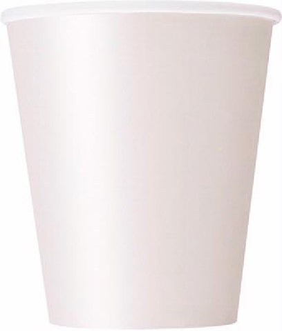 14PK 9OZ BRIGHT WHITE CUPS