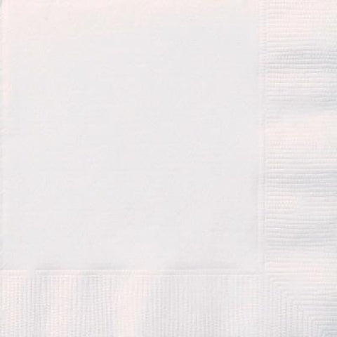 20PK 2PLY BRIGHT WHITE NAPKINS