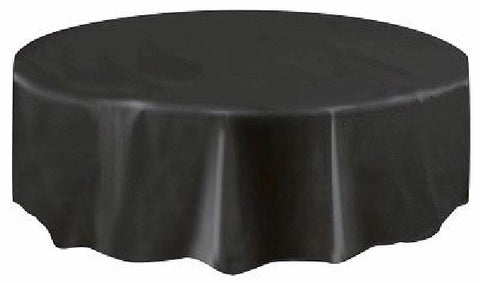 BLACK ROUND TABLECOVER