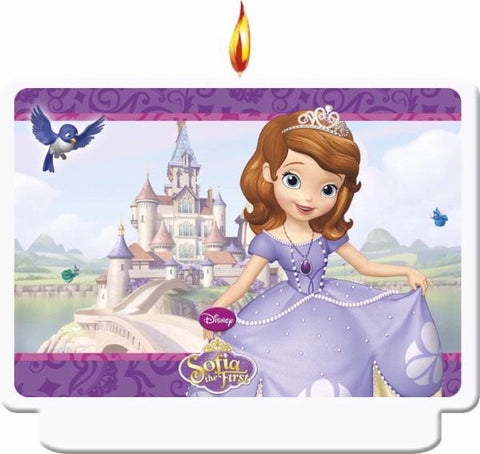 SOFIA THE FIRST HAPPY BIRTHDAY D?COR CANDLE