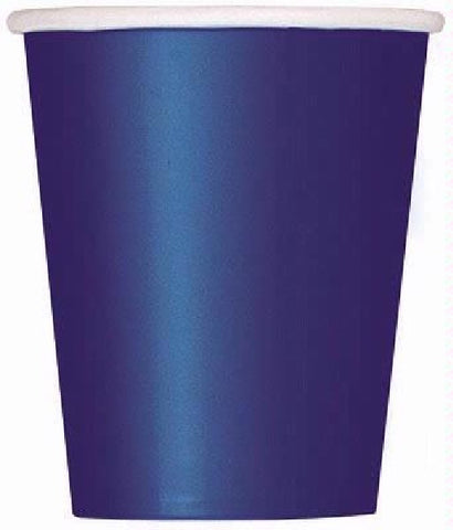 14PK 9OZ  NAVY BLUE CUPS
