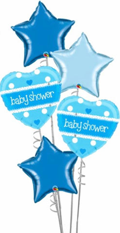Baby Shower Large Bouquet Boy - Code 453
