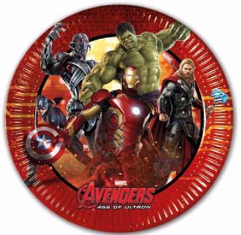 8PK 20CM AGE OF ULTRON PLATES