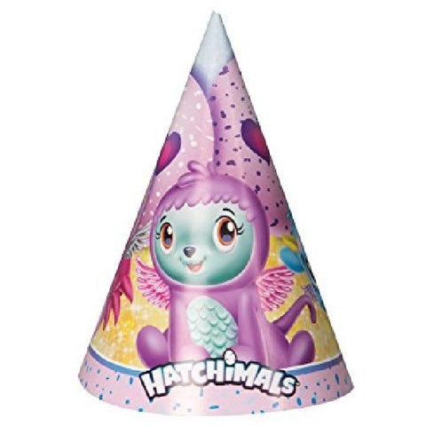 8PK HATCHIMALS PARTY HATS