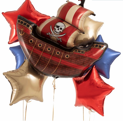 Pirate Ship Star Bouquet - Code 00217