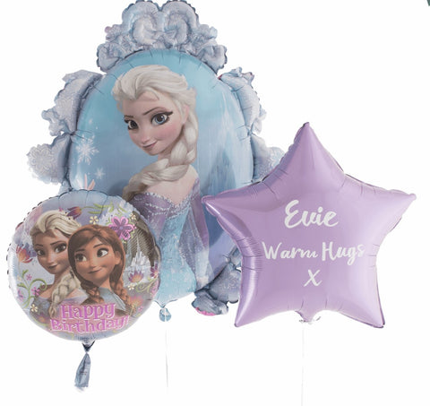 Frozen Personalised Bouquet - Code 00233