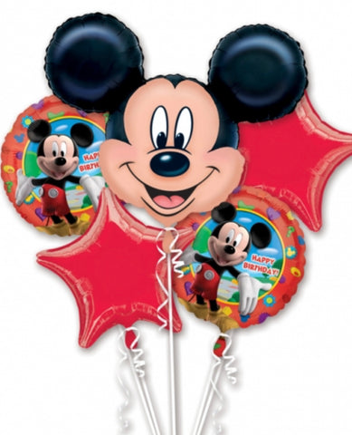 Mickey Mouse 5 Foil Bouquet - Code 457
