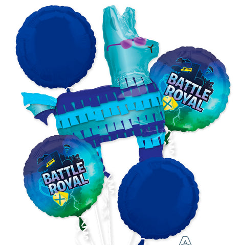 FORTNITE 5 FOIL BALLOON BOUQUET