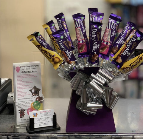 ASSORTED DAIRY MILK CHOCOLATE BOUQUET