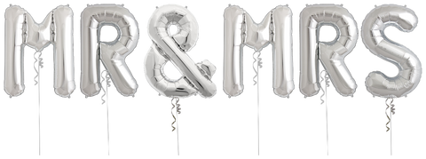 Balloons MR & MRS Arch - Code 00372