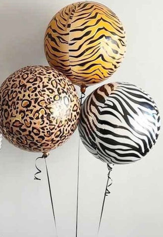 Large Animal Print Orbz Bouquet - Code 00205