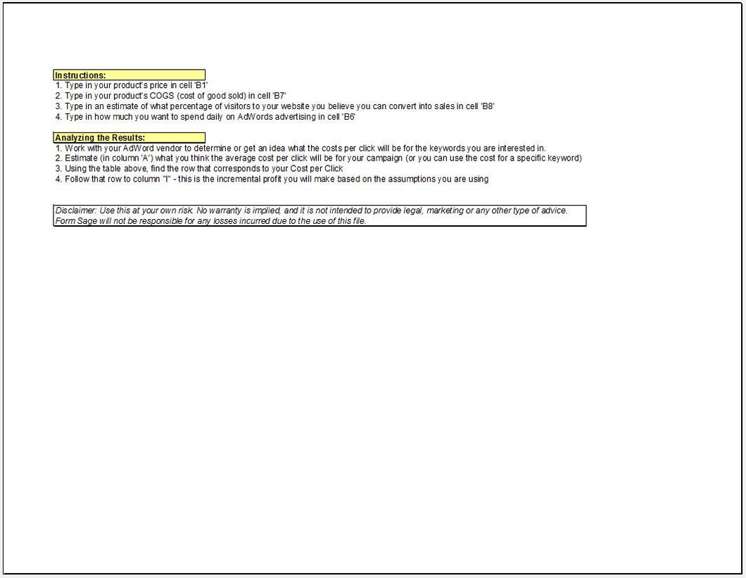 Project Roi Template. internal projects casebuilder business case ...