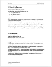 Business Plan Template - Clickstarters