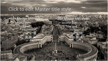 City Center European Style Background PowerPoint Presentation Template - Clickstarters