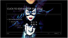 Evolution of Batman Movies and Posters Background PowerPoint Presentation Template - Clickstarters