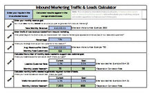 Inbound Lead Calculator - Clickstarters