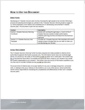 Information Technology (IT) and Business Continuity Plan (BCP) Template