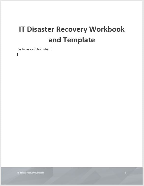 Information technology it and business continuity plan bcp information technology it and business continuity plan bcp template cheaphphosting Images