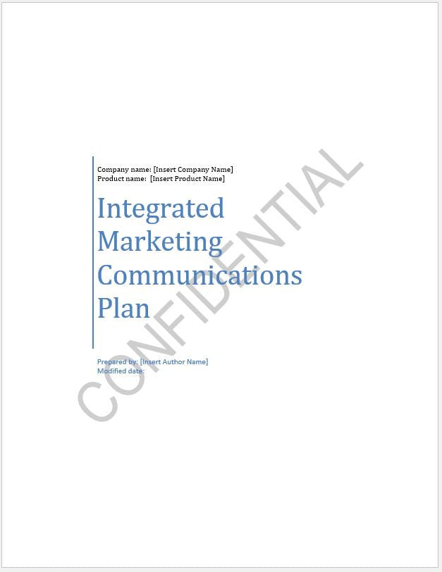 Integrated Marketing Communications Plan - Clickstarters