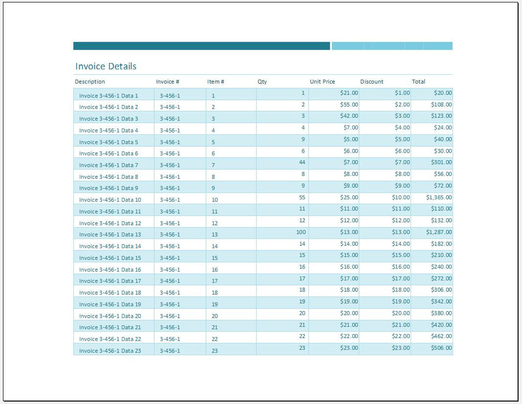 Sales Invoice Tracker Worksheet And Template Clickstarters