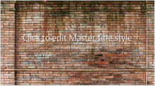 Old Brick Wall Background PowerPoint Presentation Template - Clickstarters