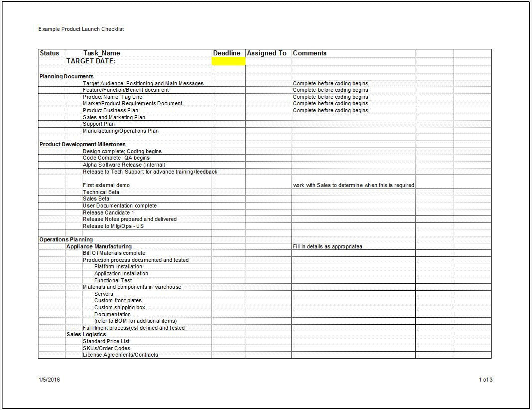 software product launch plan template juve cenitdelacabrera co