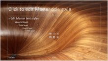 Wood Slide Background PowerPoint Template
