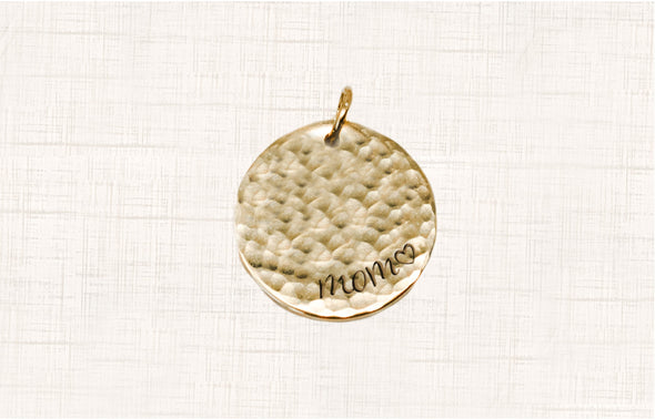 Mother's Day Necklace Charm