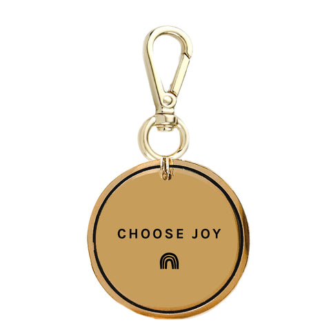 Choose Joy Keychain Charm