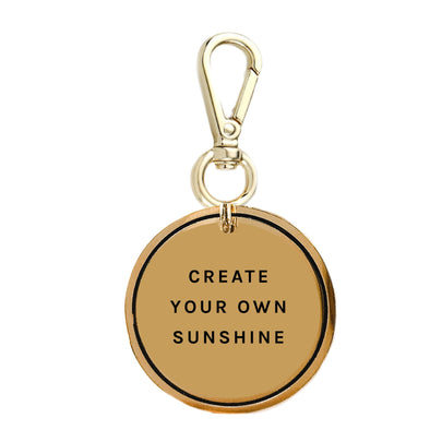 Create Your Own Sunshine Keychain Charm