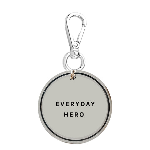 Everyday Hero Keychain Charm