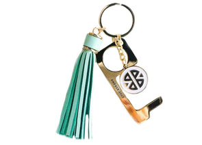 Don't Touch That! Keychain- Women's