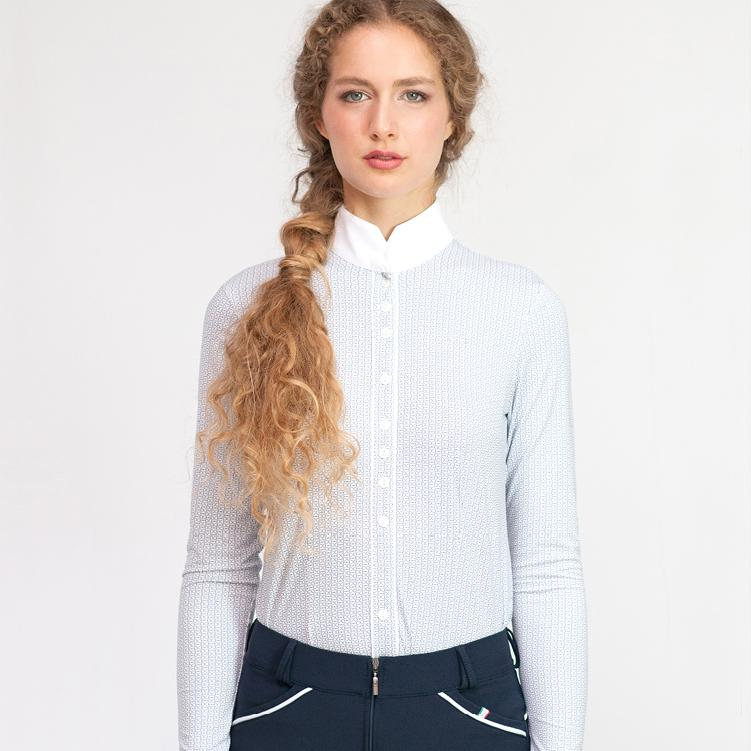 ALZIRA FANTASY Long Sleeve Show Shirt