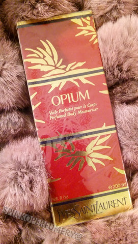 Rare Vintage 90's Yves Saint Laurent Opium Perfumed Body Lotion 200 mL 6.6 FL OZ