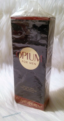 Rare Vintage 1996 Opium Pour Homme Eau De Toilette By Yves Saint Laurent 1.6 fl.oz Sealed