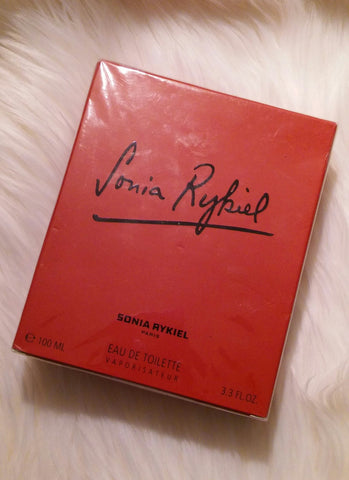 Vintage 1997 Sonia Rykiel By Sonia Rykiel Eau De Toilette Spray Perfume 3.3 Fl Oz. 100 mL Sealed