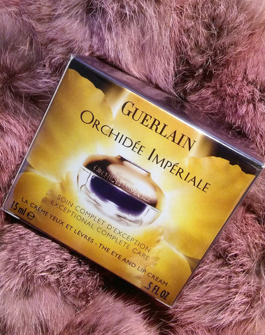 Guerlain Orchidee Imperiale Exceptional Complete Care The Eye and Lip Cream .5oz UNBOXED