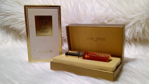 "Vintage 1980's ""JOY"" Vapomiseur PURE Parfum 1/4 Oz. FULL Boxed"