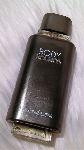 Body Kouros By Yves Saint Laurent EDT 3.3 FL.OZ. 100 mL Vintage 2000 First Formulation Boxed