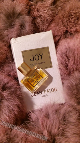 Vintage 1988 Joy By Jean Patou 2mL Eau De Toilette Pre- Reformulation Splash Bottle