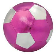 "6"" Pink/Silver Mini Y'all Ball"