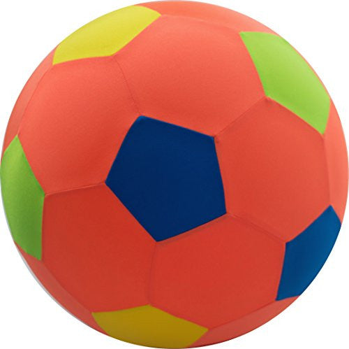 "8"" BRIGHTS Soccer Ball - Red/Multi Color"